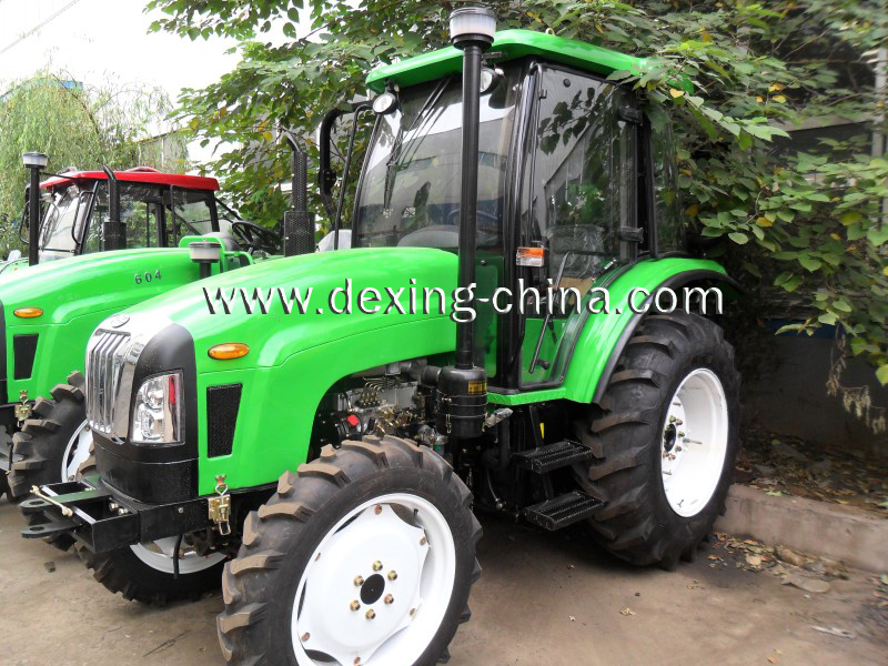 60Hp, 4WD tractor with cab