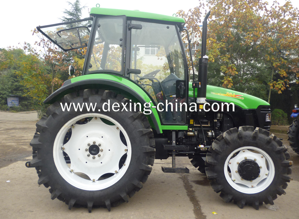 80Hp,4WD tractor with cab