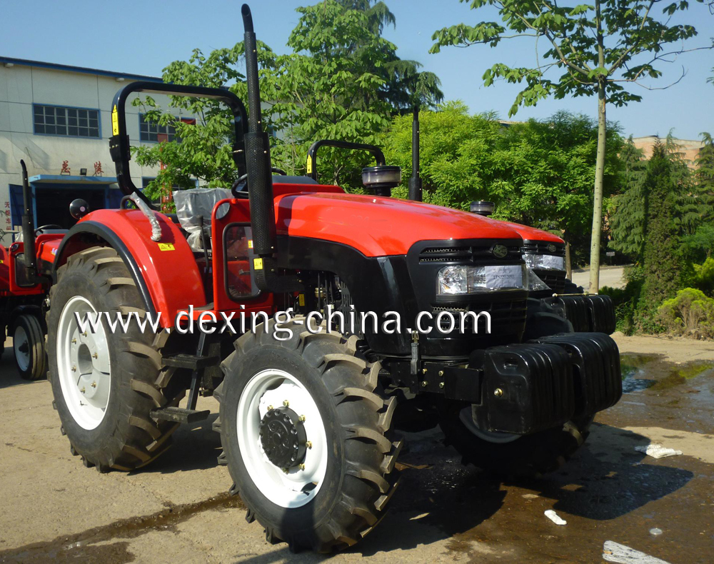 90Hp 4WD farm tractor