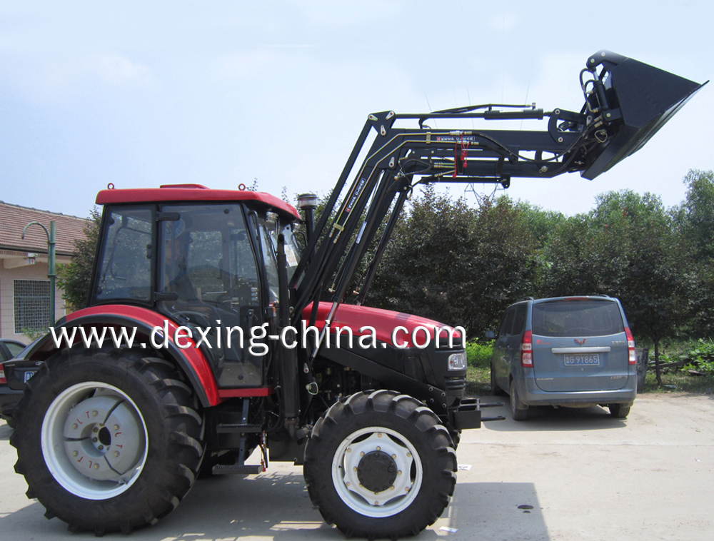 80Hp tractor with Front end loader